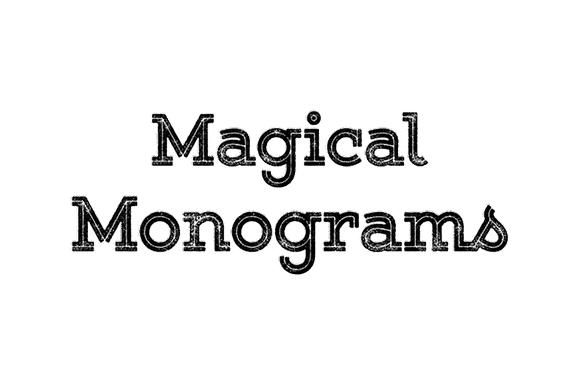 Magical Monograms